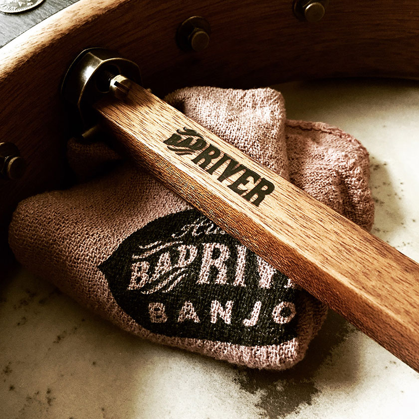 Bad Rive Banjo branded dowel stick